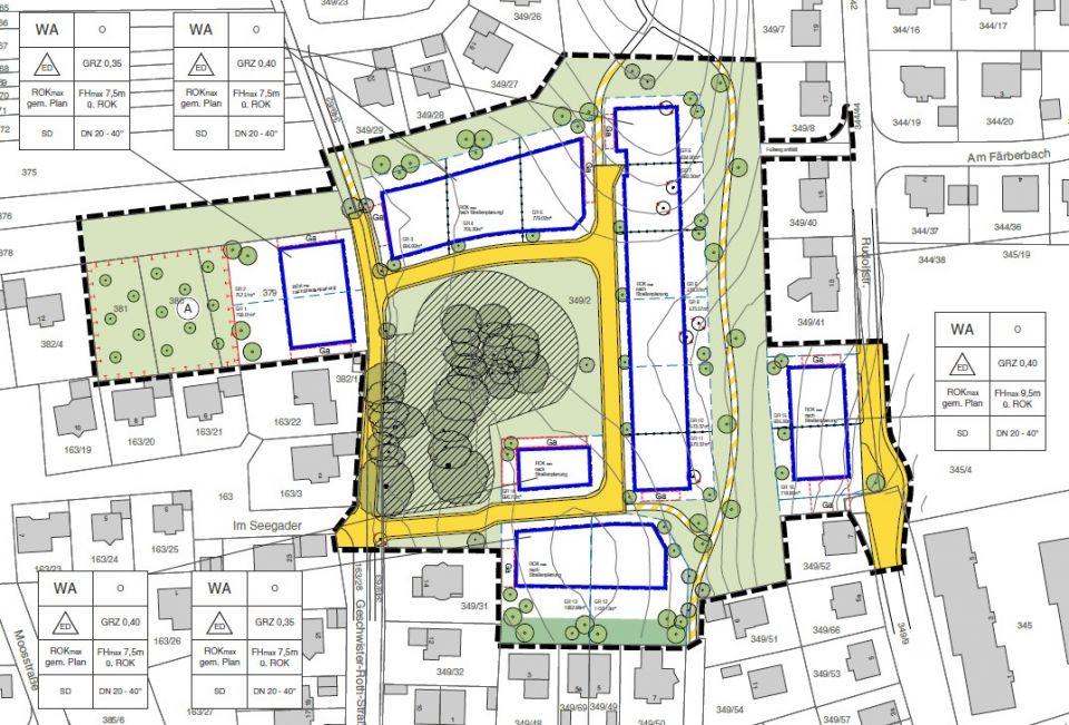 Im Rahmen Des Aufstellungsverfahrens Zum Bebauungsplan Seegader Mitte III Mit 11 Ande Rung Bebauungsplans Dietmannsried